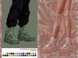 helgatisha Recolor Madlen Tasha Shoes - mesh needed