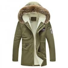 mens winter jacket 2019 new fashion windproof warm wool liner winter jacket men hooded parka men