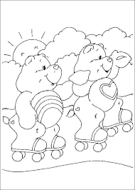 Free Pdf Coloring Pages Coloring Pages Of Care Bears Free Free