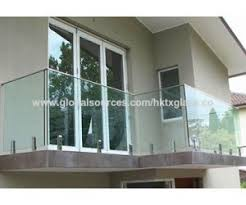 gl balcony railing modern china red from dongguan manufacturer pertaining to 7