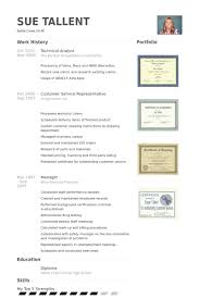 technical analyst resume samples technical analyst resume