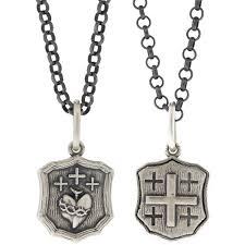 Erica Molinari Design Erica Molinari Ss Small Single Sacred Crosses
