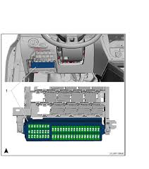 i need a fuse box diagram for a 2011 volkswagen jetta se vin full size image