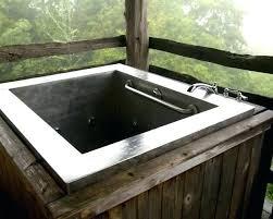 diy soaking tub soaking tub outdoor bathtub designs cedar hot plans tubs google ideas night t diy soaking tub