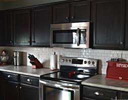 black painted kitchen cabinets ideas. Black Painted Cabinets In Modern Kitchen Ideas A