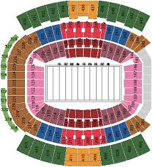 Everbank Field Seating Chart For Florida Georgia Raven Stadium Seating Chart Everbank Seating Charts Stadium