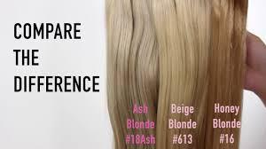 Halo Hair Extensions Colour Range Sitting Pretty