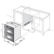 double oven installation.  Double INSTALLATION DIAGRAM To Double Oven Installation