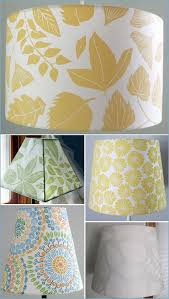 Patterned Lampshades Awesome Patterned Lamp Shade 32 Unique Covering Shades Ideas On Pinterest
