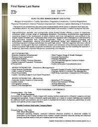 Premium Resume Templates Inspiration Health Care Management Executive Resume Template Premium Resume