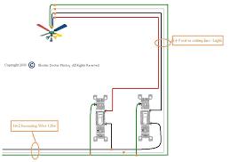 installing a ceiling fan with light ceiling fan wiring ideas install ceiling fan dimmer switch
