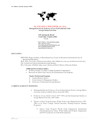 foreign service officer resume