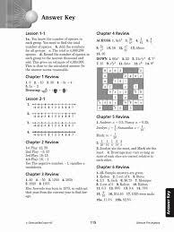 worksheet answer 4 glencoe pre algebra study guide answer key