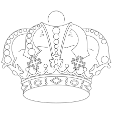Small Picture Royal Crown coloring page Free Printable Coloring Pages