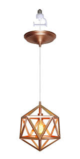 instant pendant series 1 light rose gold recessed light conversion kit