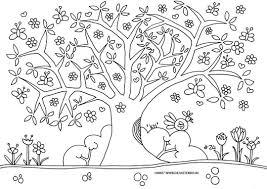 25 Bladeren Een Boom Tekenen Kleurplaat Mandala Kleurplaat Voor