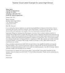 Sample Cover Letter For Teacher With No Experience Assistant Teacher