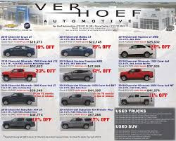 GM Weekly Ad | Sioux Center, Iowa 51250 | Ver Hoef Automotive Inc.