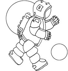Astronaut Kleurplaat Google Zoeken De Ruimte Heelal Ruimte