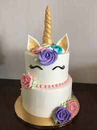 Two Tier Unicorn Ganache Cake Cake Creations By Leah Caked In