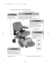 brake release levers hoveround mpv5 support warning labels 13 d82008753m 10 13 hoveround® mpv5 turn power off before operating vehicle warning emi refer to owners manual