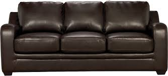 The Brick Living Room Furniture Chase Brown Faux Leather Sofa The Brick