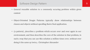 Software Patterns Simple Ideas