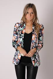Patterned Blazer Womens Best Sandi Pointe Virtual Library Of Collections