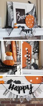 diy halloween decorations home. Interesting Cute Halloween Decor In Cfedbfbafd Sewing Mantel Diy Decorations Home P