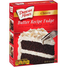 Classic Butter Recipe Fudge Mix Duncan Hines