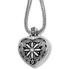fl heart locket necklace alternate view 6