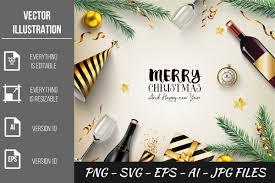 Merry Christmas Vector Bundles Graphic By Artnovi Creative Fabrica