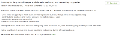while theres nothing inherently wrong with this job description copywriter job description