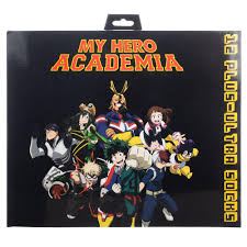<b>My Hero Academia</b> 12 Plus-Ultra Days of Socks | GameStop