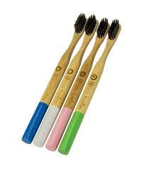 Семейный <b>набор</b> из 4-х бамбуковых зубных щеток Eco Fusion ...