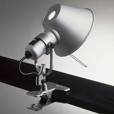 Artemide Tolomeo Clip-on Lamp Spot Light | Stardust