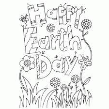 Dag Van De Aarde Kleurplaten Leuk Voor Kids