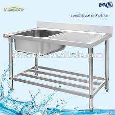 stainless steel single bowl kitchen sink with tray in singapore sus304 kitchen sink for