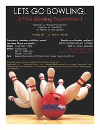 Bowling Event Flyer 6th Annual Conference Bowling Tournament