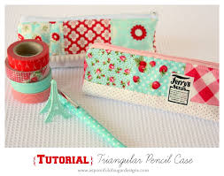 thanks for all the lovely feedback and comments on our triangular pencil case due to popular demand we have put together a tutorial so you can make your