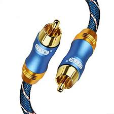 EMK Digital Coaxial Audio Cable Subwoofer Cable ... - Amazon.com