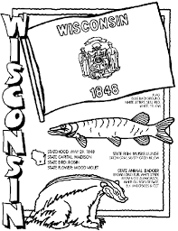 It develops fine motor skills, thinking, and fantasy. Wisconsin Coloring Page Crayola Com