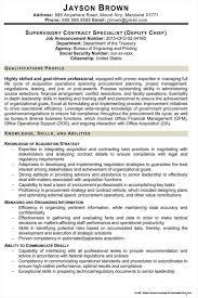Federal Resume Example Tomyumtumweb Com