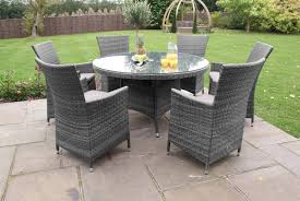 grey rattan dining table. 9 images grey rattan dining table g