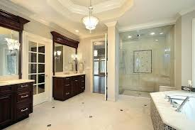 luxury master bathroom shower. Exellent Bathroom Luxury Master Bathroom Showers Dark Wood Bath  In New Construction Home With   And Luxury Master Bathroom Shower R