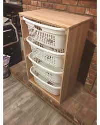 laundry room furniture. 4 Laundry Basket Holder Room Decor Organizer Furniture Clothes