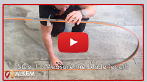 how to fold a bandsaw blade. how to fold or roll a bandsaw blade alkem industrial supplies