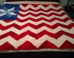 American flag quilt | Etsy & Flag Quilt / American Flag Quilt / Homemade Quilt Adamdwight.com