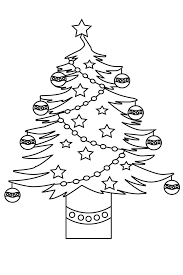 Christmas Tree Coloring Pages For Kidsfree Printable Adults Toddlers