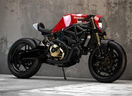 ducati monster 821 cafe racer concepts by ziggy moto the bullitt